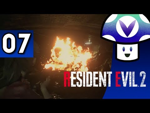 [Vinesauce] Vinny - Resident Evil 2 Remake (part 7)