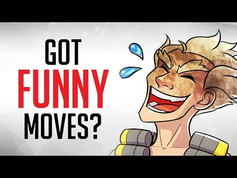 Top 10 Most HILARIOUS Emotes in Overwatch