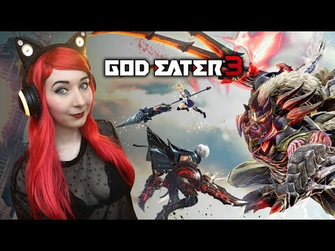 MORE ASH ARAGAMI?! - God Eater 3 PS4 Gameplay Part 3