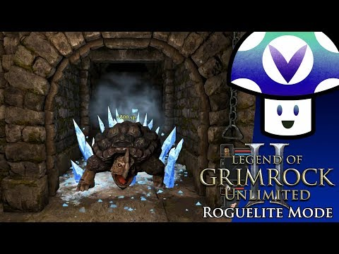 [Vinesauce] Vinny - Legend of Grimrock 2: Unlimited [Roguelite Mode]