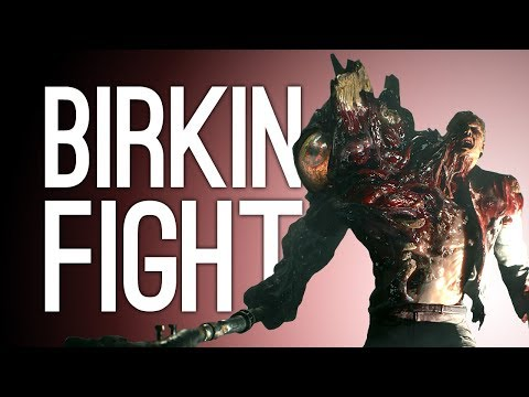 Let's Play Resident Evil 2 Remake: WILLIAM BIRKIN FIGHT! Episode 3