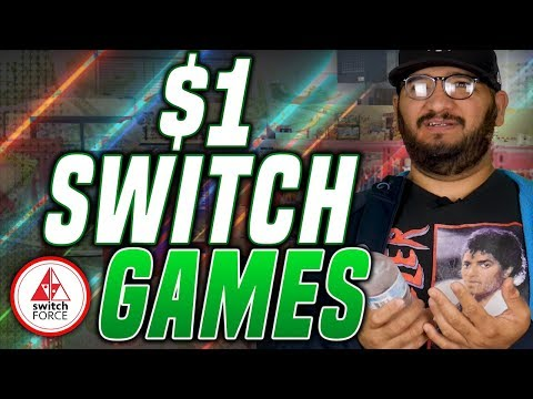 5 Nintendo Switch GAMES on eShop UNDER $1.. ONE DOLLAR! YOU CAN TRY! Switch Sale