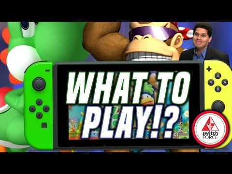 NO NEW Switch Games Until YOSHI!? What Are We Playing? Ft. SwitchStop