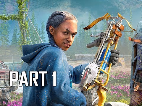 FAR CRY NEW DAWN Walkthrough Part 1 - Intro & Twins (Let's Play Gameplay Commentary)