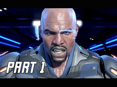 CRACKDOWN 3 Gameplay Walkthrough Part 1 - Terry