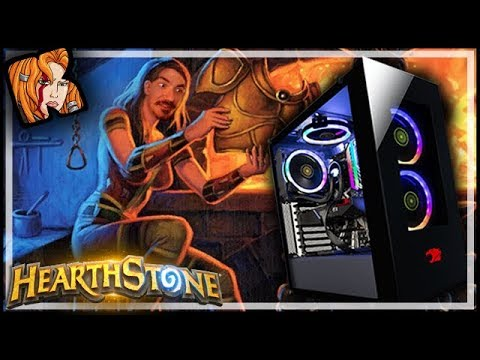 SMASH That Armor Button! - iBUYPOWER Unboxing! - Rastakhan's Rumble Hearthstone
