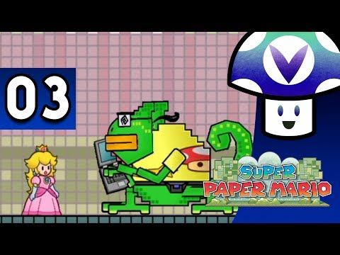[Vinesauce] Vinny - Super Paper Mario (part 3)