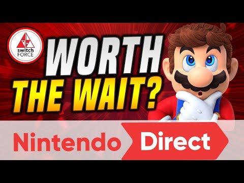 Our HUGE Nintendo Direct REVIEW! Upcoming New Switch Games WORTH THE WAIT!?