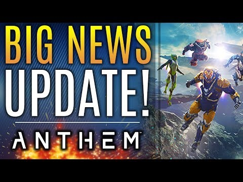 Anthem - Brand New Updates! New Changes to the Ranger! Early Access News!
