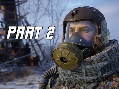 METRO EXODUS Walkthrough Gameplay Part 2 - KREST (Let's Play Commentary)