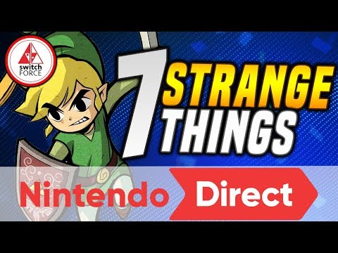 7 Strange Things YOU May Have MISSED... From The NEW Nintendo Direct!