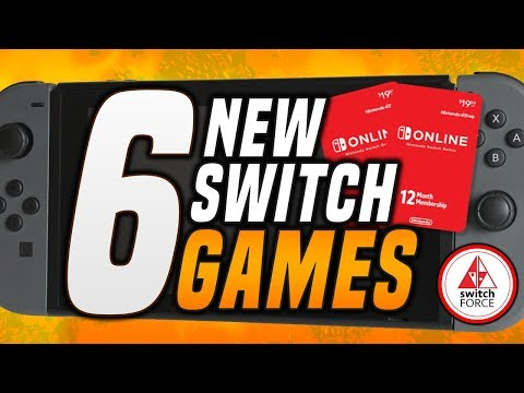 6 WILD NEW Switch Games JUST ANNOUNCED!! (2019 Nintendo Switch Games)