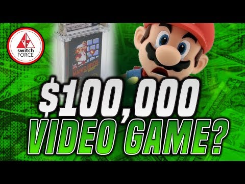 $100,000 FOR A NINTENDO GAME!?  Your DREAM Nintendo Item Is...?