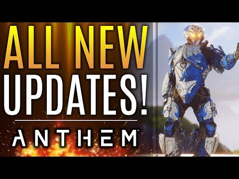 Anthem - ALL NEW UPDATES From Bioware: Interceptor Changes! Skin Price Reactions! Patches and Fixes!