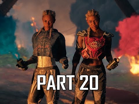 FAR CRY NEW DAWN Walkthrough Part 20 - Mickey & Lou Boss Battle (Let's Play Gameplay Commentary)