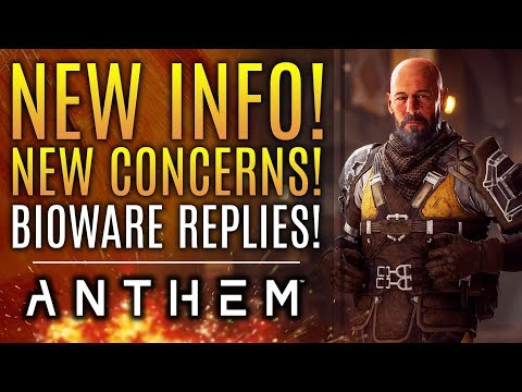 Anthem - NEW INFO! New Concerns! Loading Screen Simulator? Tomb Challenges and More!