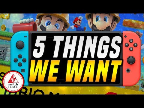 5 Things WE WANT in Super Mario Maker 2!