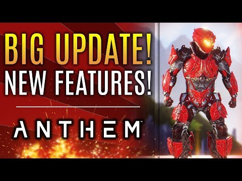 Anthem - BIG UPDATES! New Armor Feature Teased! New Pilot Skills!  Early Patch Notes!