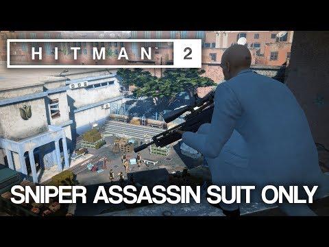HITMAN™ 2 Master Difficulty - Sniper Assassin, Marrakesh (Silent Assassin Suit Only)