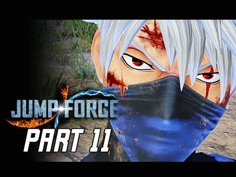 JUMP FORCE Gameplay Walkthrough Part 11 - Kakashi (Let's Play)