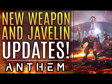 Anthem - ALL NEW! Your Favorite Javelin Has Changed! New Weapon Buffs and Updates!