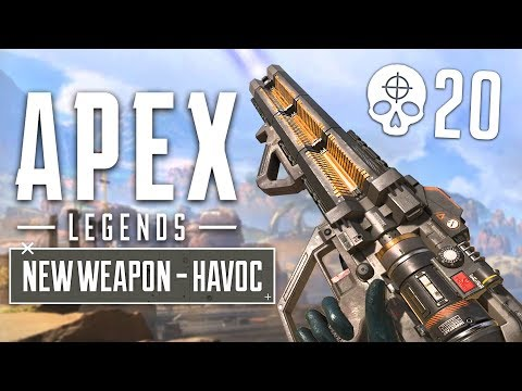 NEW GUN UPDATE!! Havoc Energy Gun Gameplay! (Apex Legends Gameplay)