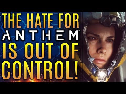 The Hate for Anthem is Out of Control