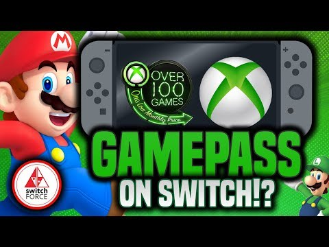 Microsoft Bringing Xbox and GamePass Apps To Nintendo Switch!?