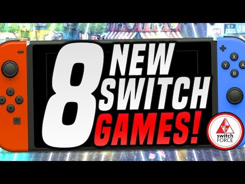 8 MEGA NEW Switch Games JUST ANNOUNCED!! (2019 Nintendo Switch Games)