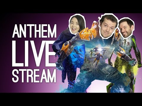 LIVE Anthem! Outside Xbox plays Anthem Live on Xbox One 🤖🤖🤖