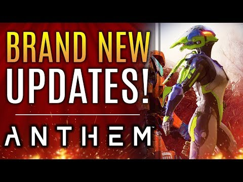 Anthem - New Info From Bioware!  Masterwork Support Gear! Server Side Updates and More!