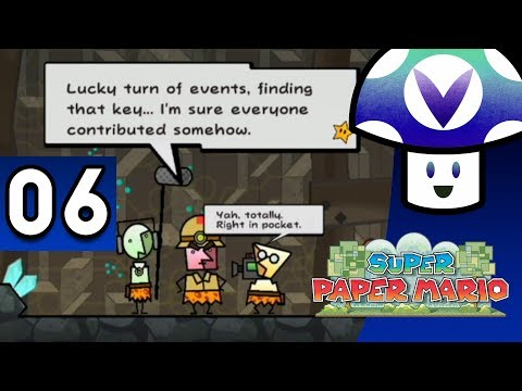 [Vinesauce] Vinny - Super Paper Mario (part 6)