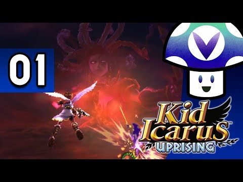 [Vinesauce] Vinny - Kid Icarus: Uprising (part 1)