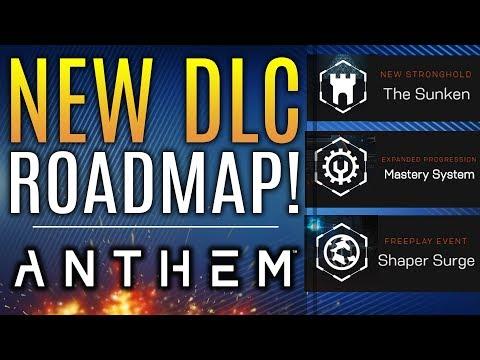 Anthem - New DLC Roadmap REVEALED! SUNKEN STRONGHOLD! Shaper Surge and More!