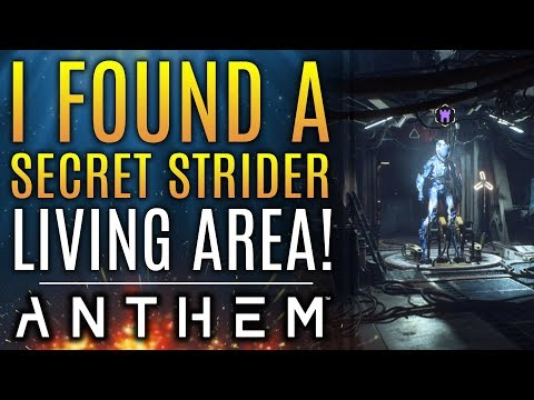 Anthem - I Found A Secret Strider Living Area!  Also: New Updates And Patch!