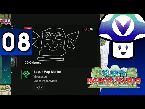 [Vinesauce] Vinny - Super Paper Mario (part 8)