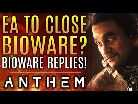 Anthem - Will EA Shutdown Bioware?  BIOWARE RESPONDS!  New Weapon Teases and More!