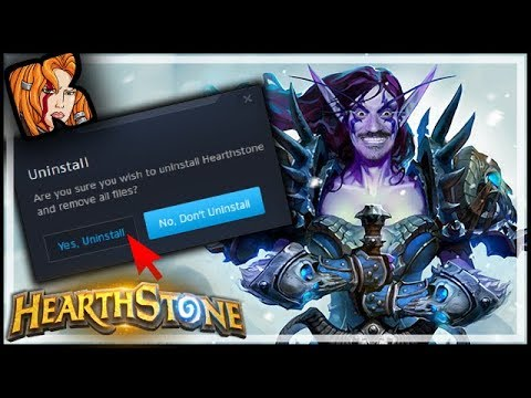 I Made My Opponent UNINSTALL - Rastakhan's Rumble Hearthstone
