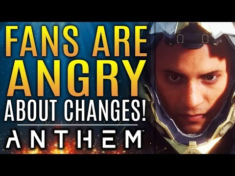 Anthem Fans Are ANGRY About Recent Changes! Bioware Gives Some Updates!