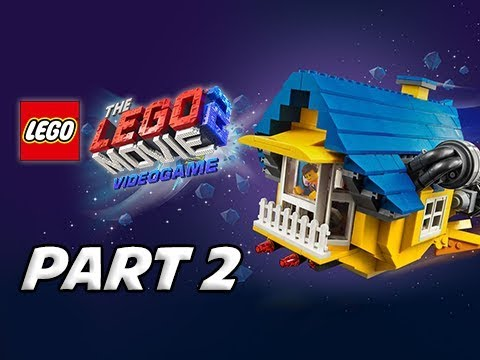 LEGO MOVIE 2 Gameplay Walkthrough Part 2 - Asteroid Belt (Video Game Let's Play)