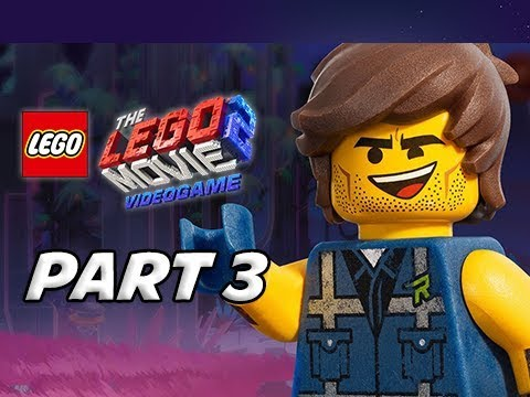 LEGO MOVIE 2 Gameplay Walkthrough Part 3 - Rex Dangervest (Video Game Let's Play)