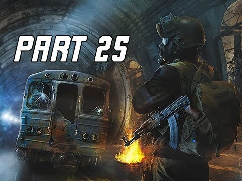 METRO EXODUS Walkthrough Gameplay Part 25 - Subway (Let's Play Commentary)