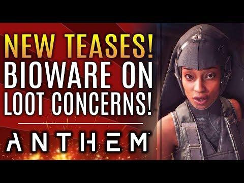 Anthem - New Updates About Loot and Other Concerns! New Teases For Future Content and DLC!