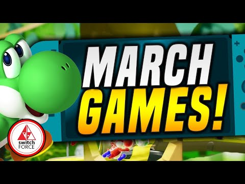 The Best NEW Switch Games for March 2019, You Should Care About!