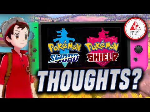 Pokemon Sword AND Shield For Switch! OUR THOUGHTS on the NEW Pokemon!