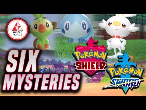 New Pokemon Sword and Shield: 6 Major MYSTERIES TO Uncover!
