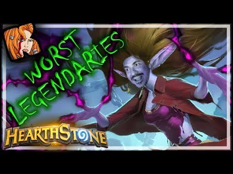 The Worst Legendaries of All Time - Hearthstone Cards