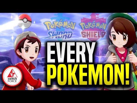 Every CONFIRMED Pokemon In Galar Region!  New Pokemon Sword and Shield