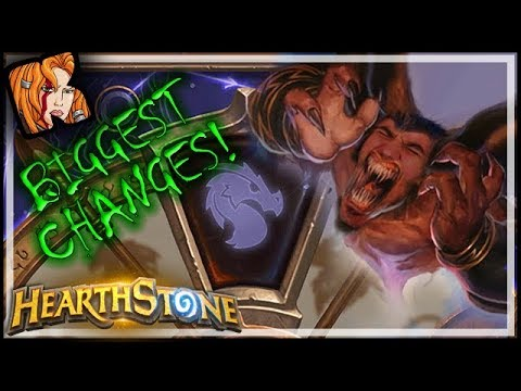 BIGGEST CHANGES EVER! RIP BAKU & GENN! - Hearthstone Year of the DRAGON