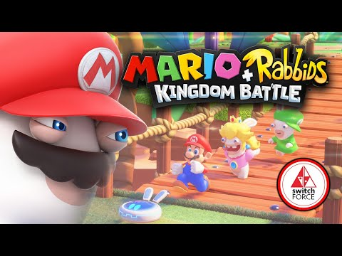 The History of Mario Rabbids Kingdom Battle | A True Epic Switch Game Crossover